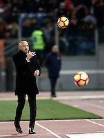 Calcio, Serie A: Roma vs Cagliari, Roma, stadio Olimpico, 22 gennaio 2017.<br /> Roma's coach Luciano Spalletti during the Italian Serie A football match between Roma and Cagliari at Rome's Olympic stadium, 22 January 2017. <br /> UPDATE IMAGES PRESS/Isabella Bonotto