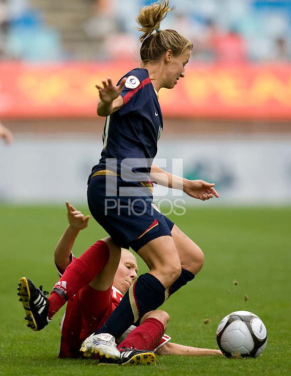Aly Wagner, Brittany Timko.  The USWNT defeated Canada, 1-0, at Suwon World Cup Stadium in Suwon, South Korea, to win the Peace Queen Cup.
