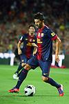 2012-08-20-FC Barcelona vs UC Sampdoria: 0-1 - 47e trofeu Joan Gamper.