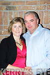 Christine O'Keeffe Mallow and Finbarr Murphy Ballydesmond who got engaged at the Supper Club in Darby O'Gills Killarney on Saturday night