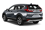 Car pictures of rear three quarter view of 2020 Honda CR-V-Hybrid Executive-4wd 5 Door SUV Angular Rear