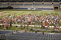 SAN ANTONIO, TX - APRIL 23, 2016: The University of Texas at San Antonio Roadrunners hold their Sixth Annual UTSA Football Fiesta Spring Game at the Alamodome. (Photo by Jeff Huehn)