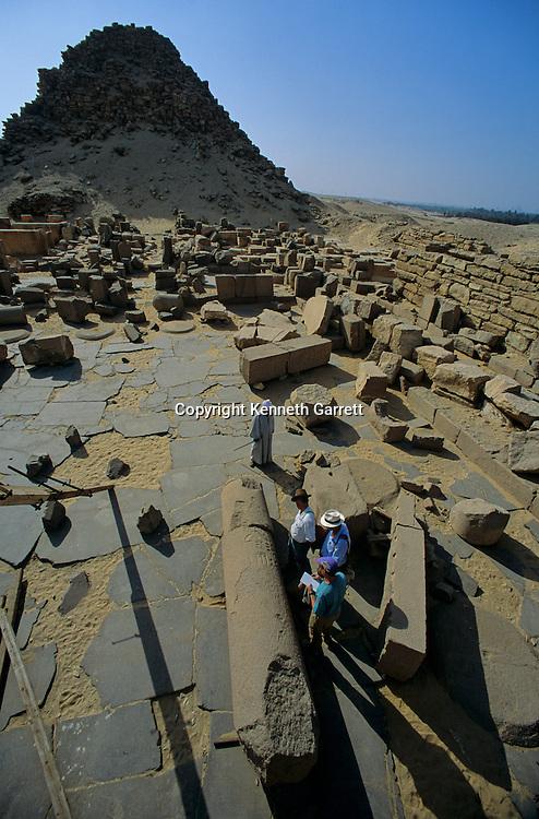 Egypt's Old Kingdom; Abusir; Egypt, pyramid