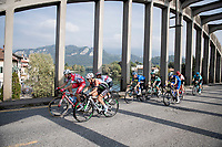 the breakaway group<br /> <br /> 113th Il Lombardia 2019 (1.UWT)<br /> 1 day race from Bergamo to Como (ITA/243km)<br /> <br /> ©kramon