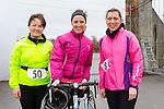 Angela Sullivan, Kay Kenny and Tina Johnson enjoying the Puck Warriors Duathlon 5km run 15km cycle 5km run started at JP O Sullivan Park, Killorglin on Saturday