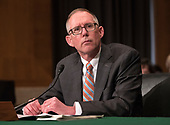 John F. Ring testifies before the United States Senate Committee on Health, Education, Labor and Pensions on his nomination of to be a member of the National Labor Relations Board (NLRB) on Capitol Hill in Washington, DC on Thursday, March 1, 2018<br /> Credit: Ron Sachs / CNP