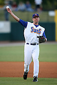 April 17, 2009:  Third baseman Matt Craig of the Jacksonville Suns, Southern League Class-AA affiliate of the Florida Marlins, during a game at the Baseball Grounds of Jacksonville in Jacksonville, FL.  Photo by:  Mike Janes/Four Seam Images