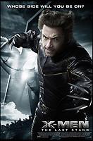 BNPS.co.uk (01202 558833)<br /> Pic:   Marvel/BNPS<br /> <br /> Poster for X-Men: The Last Stand.<br /> <br /> A pair of claws worn by actor Hugh Jackman as Wolverine have emerged for sale for £25,000.<br /> <br /> The Australian actor donned the plastic 10.5ins long claws in the 2006 film X-Men: The Last Stand.<br /> <br /> Each piece has three silver painted, pointed plastic claws attached to a metal frame.
