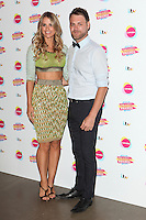 Vogue Williams and Brian McFadden arriving at for Lorraine's High Street Fashion Awards 2014, at Vinopolis, London. 21/05/2014 Picture by: Alexandra Glen / Featureflash