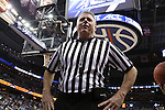 10 March 2016: Referee Bryan Kersey. The University of Notre Dame Fighting Irish played the Duke University Blue Devils at the Verizon Center in Washington, DC in the Atlantic Coast Conference Men's Basketball Tournament quarterfinal and a 2015-16 NCAA Division I Men's Basketball game. Notre Dame won the game 84-79 in overtime.