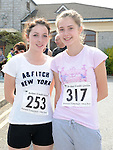 Emma Fay and Caitlin Rogan who ran the Ardee 10K run. Photo: www.colinbellphotos.com