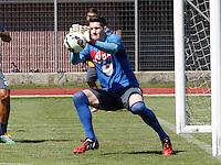 Napoli Calcio ritiro precampionato a Dimaro ( TN)  18 Luglio 2014<br /> nella foto   Rafael Cabral