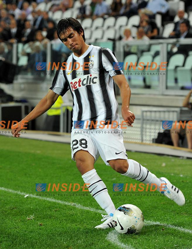 "Marcelo ESTIGARRIBIA (Juventus).Torino 8/9/2011 Stadio ""Juventus stadium"".Football Calcio 2011/2012 Friendly match.Football Calcio Juventus Vs Notts County.Foto Insidefoto Alessandro Sabattini..."