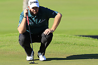Shane Lowry (IRL) on the 17th green during Thursday's Round 1 of the 2018 Turkish Airlines Open hosted by Regnum Carya Golf &amp; Spa Resort, Antalya, Turkey. 1st November 2018.<br /> Picture: Eoin Clarke | Golffile<br /> <br /> <br /> All photos usage must carry mandatory copyright credit (&copy; Golffile | Eoin Clarke)