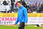 09.11.2019, Stadion an der Bremer Brücke, Osnabrück, GER, 2. FBL, VfL Osnabrueck vs. VfB Stuttgart<br /> <br /> ,DFL REGULATIONS PROHIBIT ANY USE OF PHOTOGRAPHS AS IMAGE SEQUENCES AND/OR QUASI-VIDEO, <br />   <br /> im Bild<br /> Co-Trainer Tim Danneberg (VfL Osnabrück), Aktion / Einzelbild /<br /> <br /> <br /> Foto © nordphoto / Paetzel