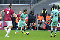 Alex Iwobi of Arsenal during West Ham United vs Arsenal, Premier League Football at The London Stadium on 12th January 2019