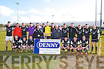 Winners Dingle FC at the Celsius Menswear Final in Mounthawk Park Dingle V Tralee Athletic on Sunday