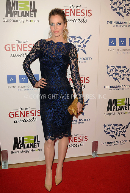 WWW.ACEPIXS.COM . . . . .  ....March 24 2012, LA....Kristin Bauer arriving at the 26th Annual Genesis Awards at The Beverly Hilton Hotel on March 24, 2012 in Beverly Hills, California. ....Please byline: PETER WEST - ACE PICTURES.... *** ***..Ace Pictures, Inc:  ..Philip Vaughan (212) 243-8787 or (646) 769 0430..e-mail: info@acepixs.com..web: http://www.acepixs.com