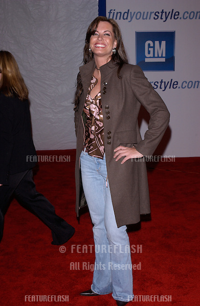 "Feb 22, 2005: Los Angeles, CA: Apprentice 3 star KRISTIN KIRCHNER at General Motors 4th Annual ""ten"" fashion show in Hollywood.."