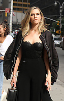 NEW YORK, NY-June 28: Erin Foster, at The Late Show with Stephen Colbert  to talk about new season of Barely Famous VH1 in New York. NY June 28, 2016. Credit:RW/MediaPunch