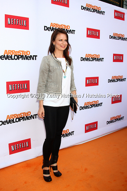 "LOS ANGELES - APR 29:  Mary Lynn Rajskub arrives at the ""Arrested Development"" Los Angeles Premiere at the Chinese Theater on April 29, 2013 in Los Angeles, CA"