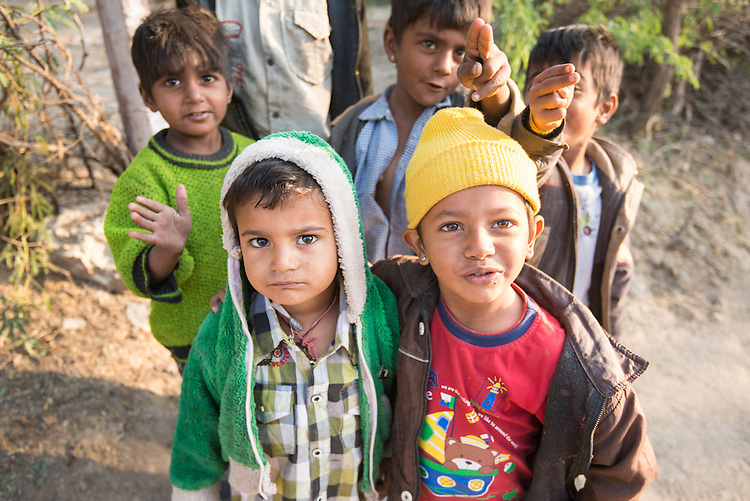 Early morning at Chandaleo Garh, the kids always have energy to have fun and play.