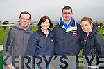 HORSING AROUND: Having a great time at the Ballybunion races on Sunday l-r: Paudie Buckley and Aoife and Daniel Curtin, Listowel and Karen King, Carrigkerry...
