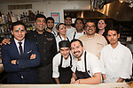 New York, NY - March 2, 2018: Chefs Navjot Arora, Akshay Bhardwaj and Hemant Mathur present an Indian Spring Feast in celebration of Holi at the James Beard House in Greenwich Village.<br /> <br /> <br /> <br /> CREDIT: Clay Williams for the James Beard Foundation.<br /> <br /> &copy; Clay Williams / http://claywilliamsphoto.com
