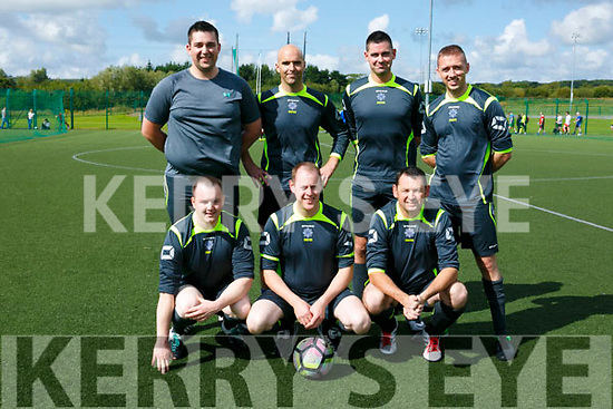 Team Garda Tralee at WOODIES charity 7-a-side soccer tournament at IT Tralee North Campus in aid of the Make a Wish Foundation, Temple Street Children's Hospital, Jack & Jill Foundation and Act for Meningitis on Saturday