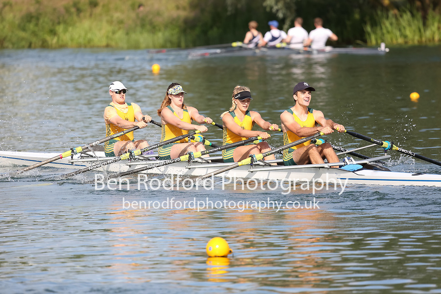 Race: 160: Mx 4x  Final<br /> <br /> Peterborough Summer Regatta 2017 - Sunday<br /> <br /> To purchase this photo, or to see pricing information for Prints and Downloads, click the blue 'Add to Cart' button at the top-right of the page.