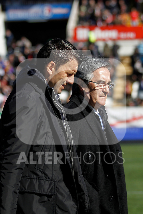 Real Valladolid's Miroslav Djukic during La Liga  match. February 24,2013.(ALTERPHOTOS/Alconada)