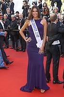 Julia Sidi Atman, Miss Cannes 2017, sur le tapis rouge pour la projection du film 120 BATTEMENTS PAR MINUTE, soixante-dixième (70ème) Festival du Film à Cannes, Palais des Festivals et des Congres, Cannes, Sud de la France, samedi 20 mai 2017.