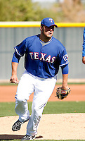 Tommy Hunter   - Texas Rangers - 2009 spring training.Photo by:  Bill Mitchell/Four Seam Images