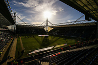 A general view of Deepdale, home of Preston North End<br /> <br /> Photographer Alex Dodd/CameraSport<br /> <br /> The EFL Sky Bet Championship - Preston North End v Nottingham Forest - Saturday 16th February 2019 - Deepdale Stadium - Preston<br /> <br /> World Copyright © 2019 CameraSport. All rights reserved. 43 Linden Ave. Countesthorpe. Leicester. England. LE8 5PG - Tel: +44 (0) 116 277 4147 - admin@camerasport.com - www.camerasport.com