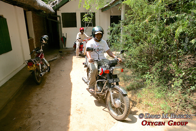 Chameera Riding Motorcycle