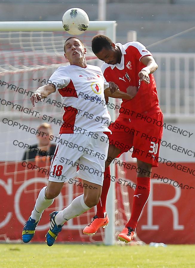 Fudbal Kup Srbije season 2013-2014<br /> Proleter Novi Sad v Crvena Zvezda<br /> Roberts Omega (R)<br /> Novi Sad, 25.09.2013.<br /> foto: Srdjan Stevanovic/Starsportphoto &copy;