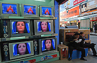 TCL TV for sale in Guangzhou, China..11-DEC-04