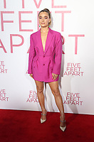 7 March 2019 - Los Angeles, California - Haley Lu Richardson. The Premiere Of Lionsgate's &quot;Five Feet Apart&quot; held at Fox Bruin Theatre. <br /> CAP/ADM/FS<br /> &copy;FS/ADM/Capital Pictures