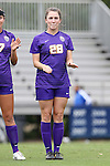 14 September 2014: LSU's Tori Sample. The Duke University Blue Devils hosted the Louisiana State University Tigers at Koskinen Stadium in Durham, North Carolina in a 2014 NCAA Division I Women's Soccer match. Duke won the game 1-0.
