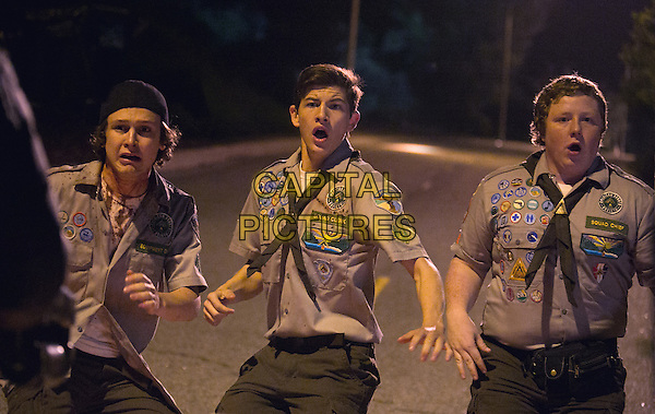 Scouts Guide to the Zombie Apocalypse (2015) <br /> Logan Miller, Tye Sheridan, Joey Morgan<br /> *Filmstill - Editorial Use Only*<br /> CAP/FB<br /> Image supplied by Capital Pictures
