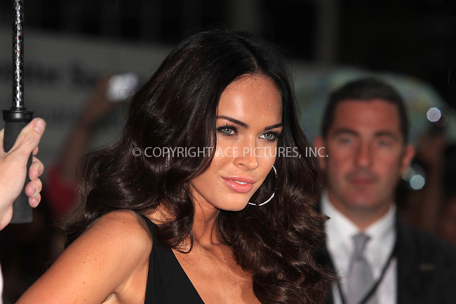 WWW.ACEPIXS.COM . . . . .  ..... . . . . US SALES ONLY . . . . .....June 15 2009, London....Megan Fox arrives for the Transformers: Revenge of the Fallen Premiere at Odeon Leicester Square on June 15, 2009 in London, England.....Please byline: FAMOUS-ACE PICTURES... . . . .  ....Ace Pictures, Inc:  ..tel: (212) 243 8787 or (646) 769 0430..e-mail: info@acepixs.com..web: http://www.acepixs.com