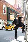 Robby Clater during his Broadway debut in 'Pretty Woman The Musical' photo shoot at the Nederlander Theatre on August 24, 2018 in New York City.