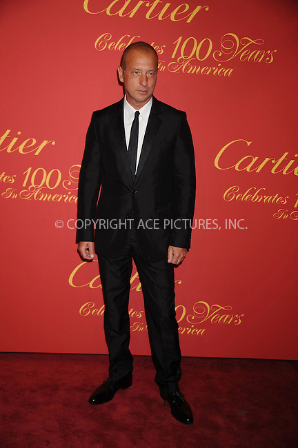 WWW.ACEPIXS.COM . . . . . ....April 30 2009, New York City....Designer Helmut Lang arriving at the Cartier 100th Anniversary in America Celebration at Cartier Fifth Avenue Mansion on April 30, 2009 in New York City.....Please byline: KRISTIN CALLAHAN - ACEPIXS.COM.. . . . . . ..Ace Pictures, Inc:  ..tel: (212) 243 8787 or (646) 769 0430..e-mail: info@acepixs.com..web: http://www.acepixs.com