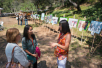 Martha Matsuoka, Associate Professor, Urban & Environmental Policy Institute. Occidental College alums enjoy a long weekend of activities and festivities both on campus and off during Alumni Reunion Weekend, June 22, 2013 by touring the UEPI garden, led by UEPI faculty. (Photo by Marc Campos, Occidental College Photographer)