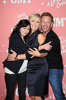 Shannen Doherty, Jennie Garth and Ian Ziering at Jennie Garth's 40th birthday celebration and premiere party for 'Jennie Garth: A Little Bit Country' at The London Hotel on April 19, 2012 in West Hollywood, California Credit: mpi20/MediaPunch Inc.