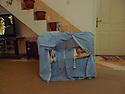 Iraq 2011 <br /> Baby in a cradle in a modern house  <br /> Irak 2011 <br /> Enfant dans son berceau dans une maison moderne