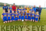 The Ballymac U13 team taking part in the Sandra Keane Memorial Tournament in the John Mitchels Complex on Saturday