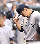 Masahiro Tanaka (Yankees), JUNE 11, 2014 - MLB : Masahiro Tanaka of the New York Yankees during the Major League Baseball game against the Seattle Mariners at Safeco Field in Seattle, Washington, United States. (Photo by AFLO)