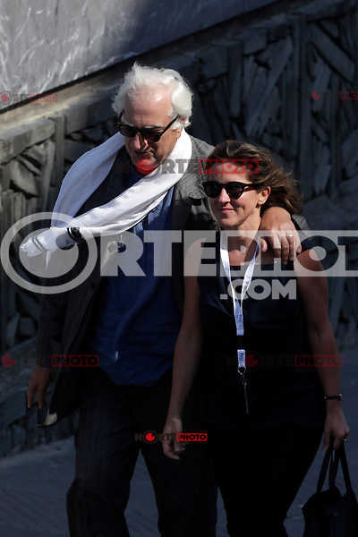 "Director Bertrand Tavernier in the photocall of the ""Quai D´orsay"" film presentation during the 61 San Sebastian Film Festival, in San Sebastian, Spain. September 24, 2013. (ALTERPHOTOS/Victor Blanco) /NortePhoto"