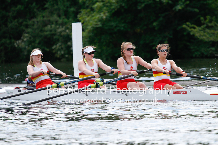 Race: 178 C4+ Quarter-Final - Auriol Kensington vs Tideway Sc Sch<br /> <br /> Henley Women's Regatta 2017<br /> <br /> To purchase this photo, or to see pricing information for Prints and Downloads, click the blue 'Add to Cart' button at the top-right of the page.